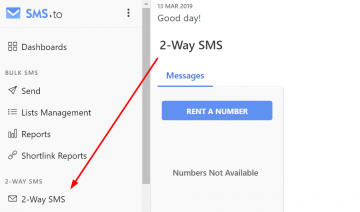 SMS.to releases 2-way SMS & HTTP REST API